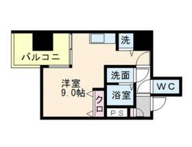 リード桜坂・0907号室の間取り