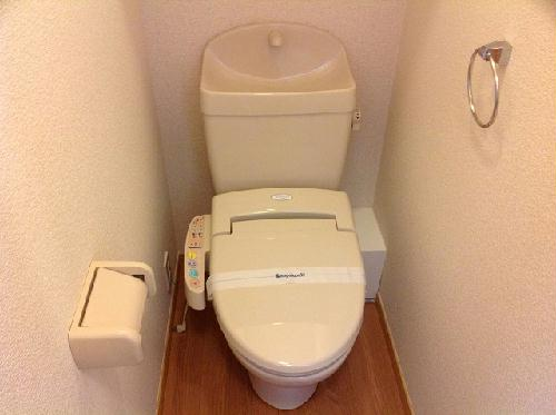 レオパレスかいと 207号室のトイレ