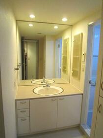 市原八幡パークホームズ 607号室の洗面所