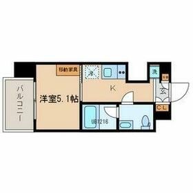 TOKIO久米川タワー・703号室の間取り