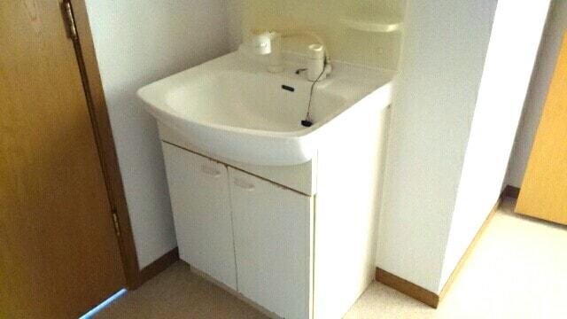 サンセールⅠ 01030号室の洗面所