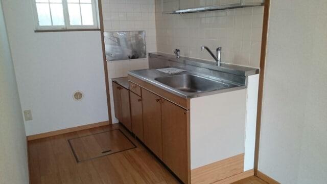 サンセールⅠ 01030号室のキッチン