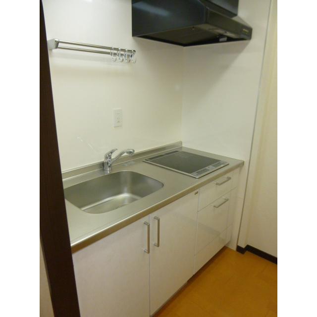 プラザ勝どき 1207号室のキッチン