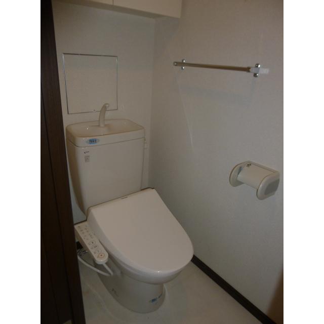 プラザ勝どき 1207号室の風呂