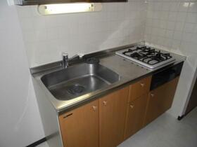 ウイングパーク 0703号室のキッチン