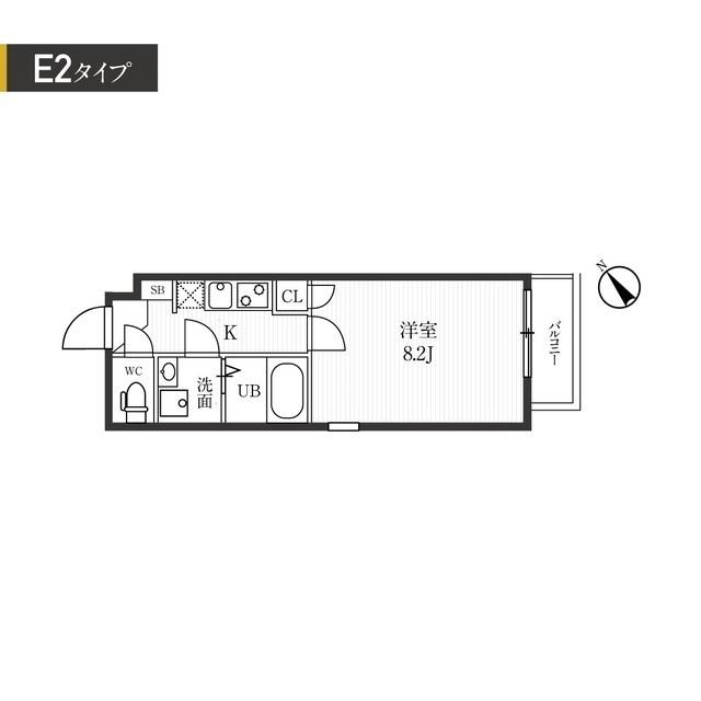 新宿夏目坂コート・307号室の間取り