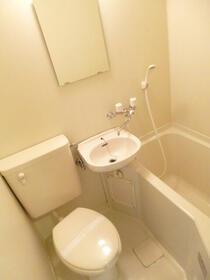 スカイコート西川口第8 301号室のトイレ