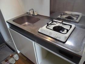 コンフォール中川 203号室のキッチン
