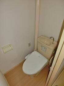 グランディール藤清 壱番館 207号室のトイレ