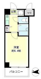 第27新井ビル 00303号室の間取り