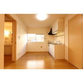 プラドールA棟 102号室のキッチン