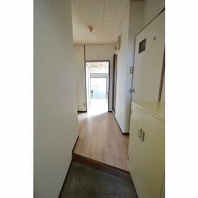 エステートピア 4B号室の玄関