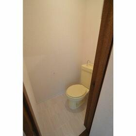 エステートピア 4B号室のトイレ