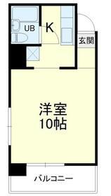 野沢マンション・405号室の間取り