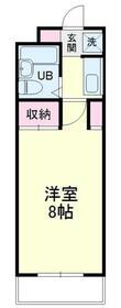 中沢シティハイツ・303号室の間取り