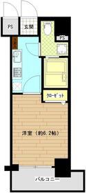 Le'a横浜中央・804号室の間取り