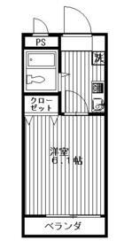 パークハイム斉藤・201号室の間取り