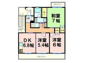 ローレルマンション太田A・104号室の間取り