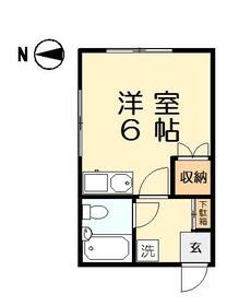 第2雲山堂ビル・301号室の間取り