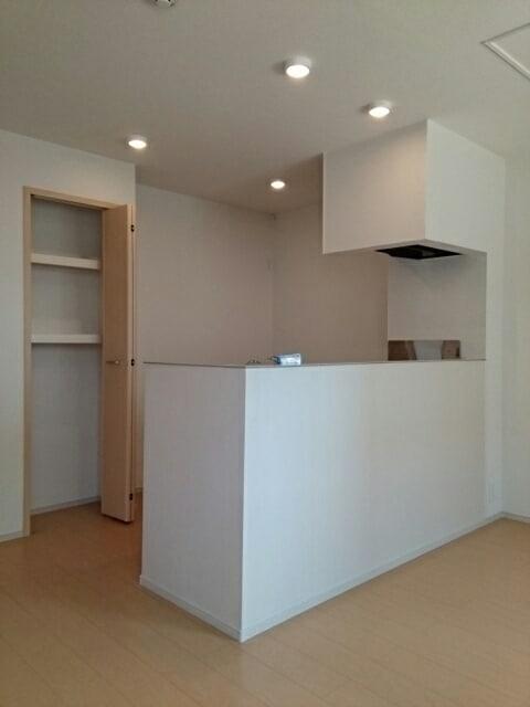 プルメリア B 01010号室のキッチン