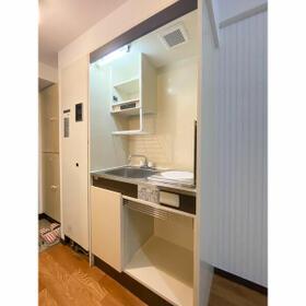 グランパーク西公園(旧サンコーポ西公園) 207号室のキッチン