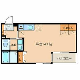 ESTACION KANAYAMA WEST・EAST・0206号室の間取り