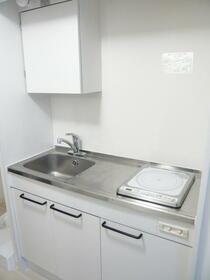 ユーコート中野 403号室のキッチン