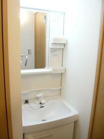 ユーコート中野 403号室の洗面所