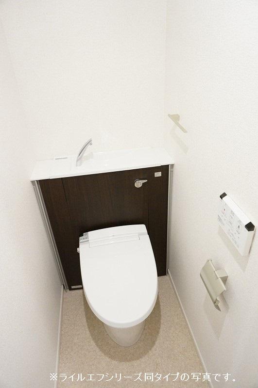 グラン トレゾール 01010号室のトイレ