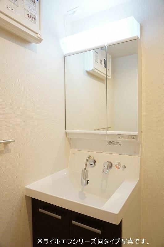 グラン トレゾール 01010号室の洗面所