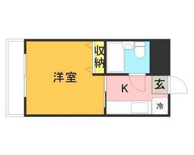メゾン・ド・祇園・0306号室の間取り