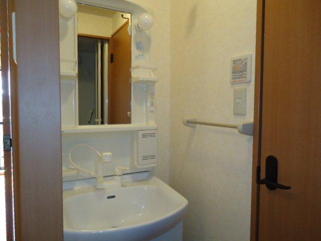 ドリームウィングB棟 102号室の洗面所