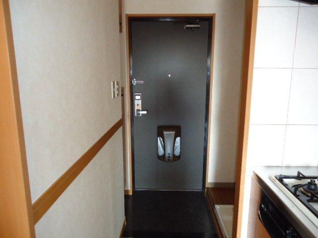 ドリームウィングB棟 102号室の玄関