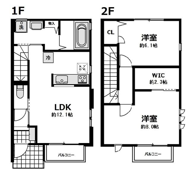 (仮称)神奈川区沢渡計画・A101号室の間取り
