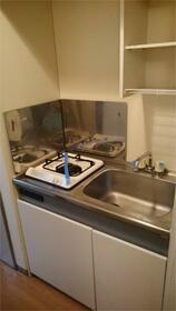 カミーリア 305号室のキッチン