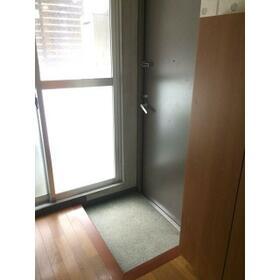 プレゴ学芸大学 101号室の玄関