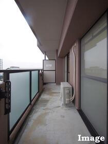 M'S HOUSE akanabe 402号室のバルコニー