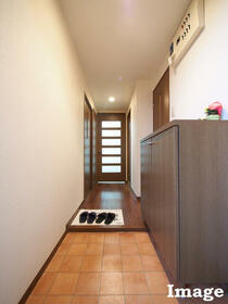 M'S HOUSE akanabe 402号室の玄関
