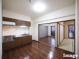 M'S HOUSE akanabe 402号室のリビング