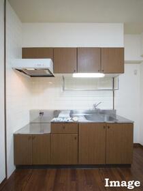 M'S HOUSE akanabe 402号室のキッチン