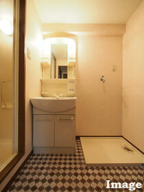 M'S HOUSE akanabe 402号室の洗面所