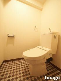 M'S HOUSE akanabe 402号室のトイレ