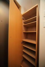 フルール・ド・リス新百合ヶ丘 203号室の収納