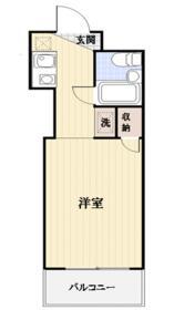 TOP・宮崎台第1 503号室の間取り
