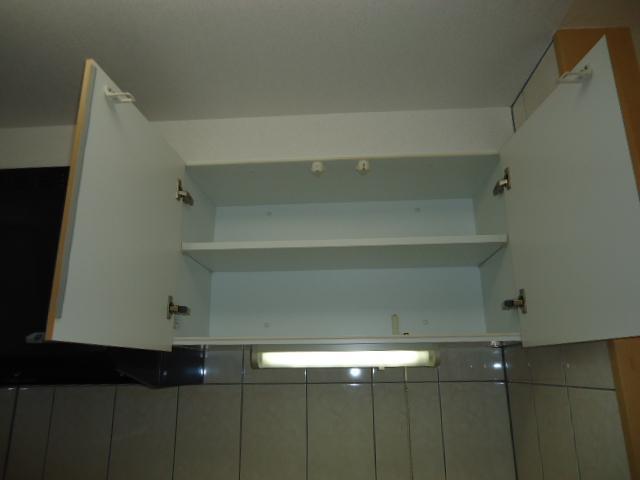 ハイブリッジ 202号室のキッチン