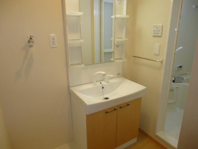 ハイブリッジ 202号室の洗面所