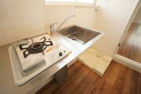 ギャレット21 201号室のキッチン