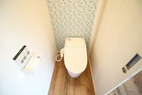 ギャレット21 201号室のトイレ