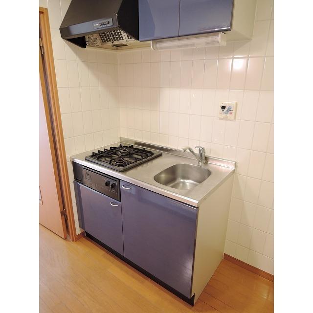 プレール・ドゥーク大森 205号室のキッチン