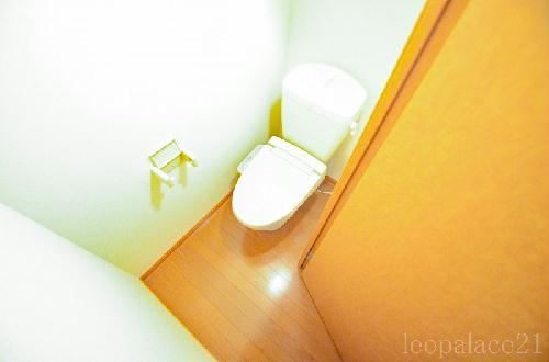 レオパレスRURIA 103号室のトイレ
